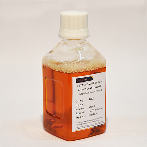 CellMax标准胎牛血清 500mL (精选)